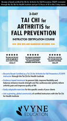 2 Day: Tai Chi for Arthritis for Falls Prevention: Instructor Certification Course
