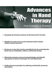 Advances in Hand Therapy: From Evaluation to Treatment