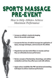 Sports Massage Pre-Event: How to Help Athletes Achieve Maximum Performance