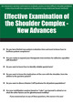 Effective Examination of the Shoulder Complex - New Advances