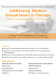Addressing Modern Sexual Issues in Therapy: Effective Clinical Strategies for an Evolving World