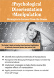 The Psychological Disorientation of Manipulation: Strategies to Recover from the Drama