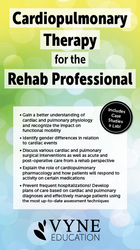 Image ofCardiopulmonary Therapy for the Rehab Professional
