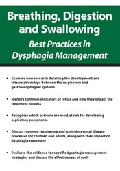 Image ofBreathing, Digestion and Swallowing: Best Practices in Dysphagia Manag