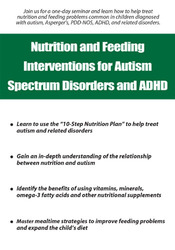 Image ofNutrition and Feeding Interventions for Autism Spectrum Disorders and