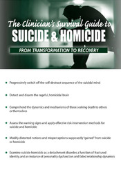 Image ofThe Clinician's Survival Guide to Suicide & Homicide – from Transforma