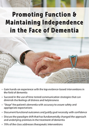 Image ofPromoting Function & Maintaining Independence in the Face of Dementia
