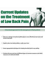 Image ofCurrent Updates on the Treatment of Low Back Pain