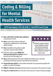 Image ofCoding and Billing for Mental Health Services