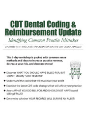 Image ofCDT Dental Coding and Reimbursement Update: Identifying Common Practic