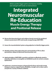 Image ofIntegrated Neuromuscular Re-Education: Muscle Energy Therapy and Posit