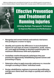 Image ofEffective Prevention and Treatment of Running Injuries