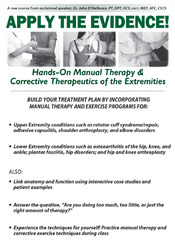 Image ofApply the Evidence! Manual Therapy & Corrective Therapeutics of the Ex