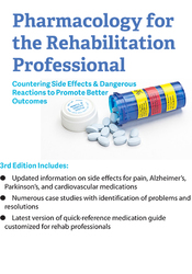 Image ofPharmacology for the Rehabilitation Professional: Countering Side Effe