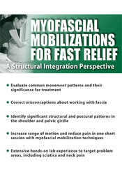 Image ofMyofascial Mobilizations for Fast Relief: A Structural Integration Per