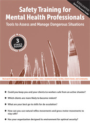 Image ofSafety Training for Mental Health Professionals: Tools to Assess and M
