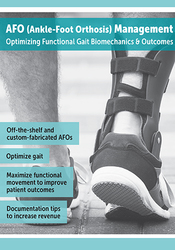 Image ofAFO (Ankle-Foot Orthosis) Management: Optimizing Functional Gait Biome