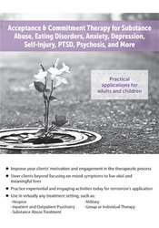 Image ofAcceptance & Commitment Therapy for Substance Abuse, Eating Disorders,