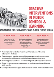 Image ofCreative Interventions in Motor Control & Learning: Promoting Posture,