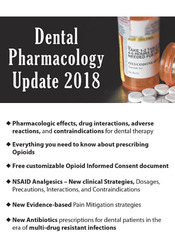 Image ofDental Pharmacology Update 2018