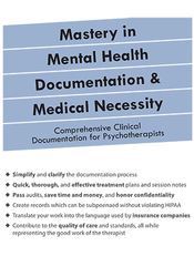 Image ofMastery in Mental Health Documentation & Medical Necessity: Comprehens
